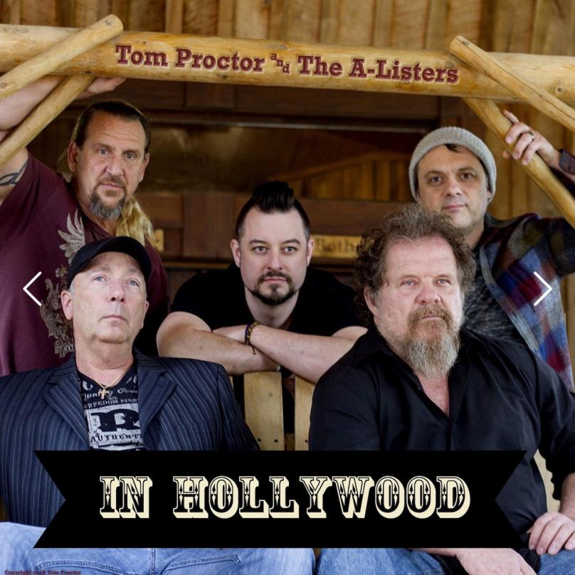 """Tom Proctor and the A-Listers  """"In Hollywood"""""""