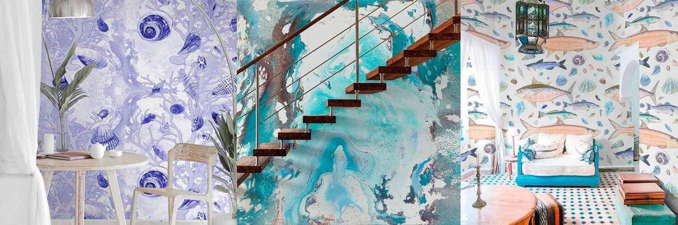 Casart Coverings Shells, Sea Spray, Shell Fish designs in Sea Life series