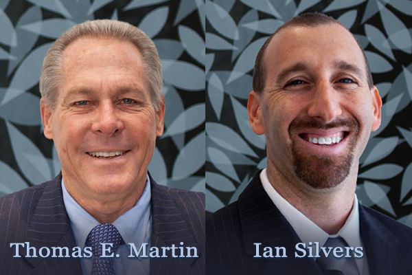 Attorneys, Tom Martin and Ian Silvers