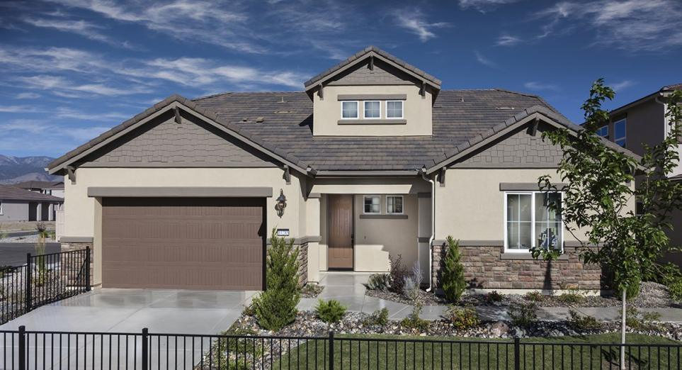 New homes in Sparks boasting modern designs and Everything's Included® features