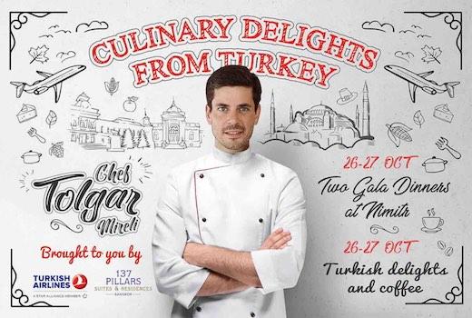 Culinary Delights from Turkey with Chef Tolgar Mireli at Nimitr