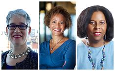 L to R: Tanya Pein, Carla Sorey-Reid, Dr. Erma Manoncourt
