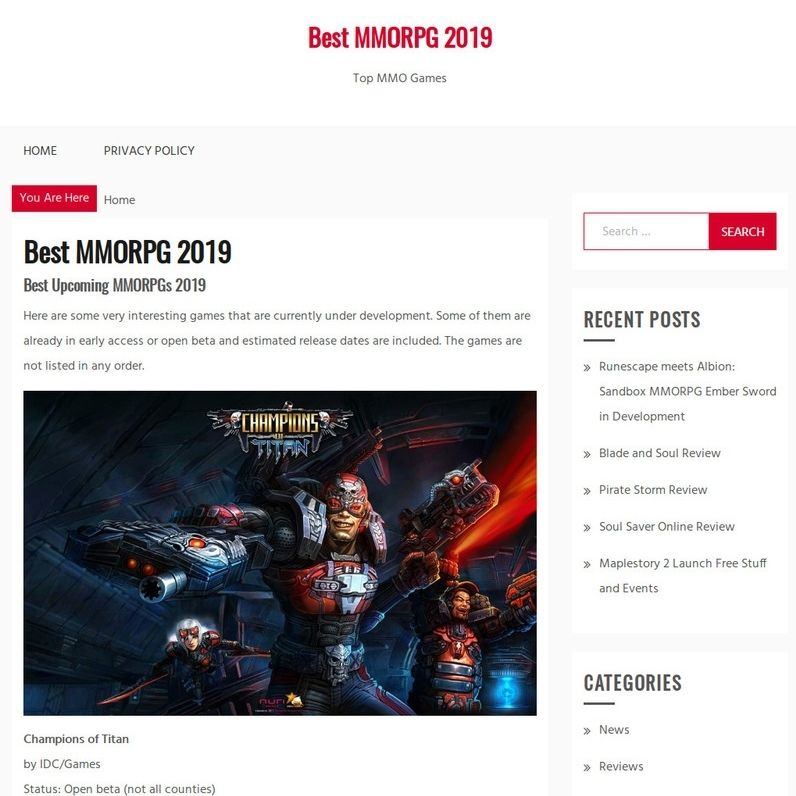 Most Highly Anticipated Upcoming MMORPGs 2019 List Revealed