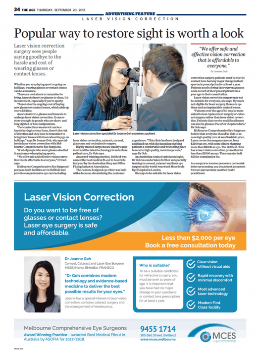 Popular way to restore sight is worth a look