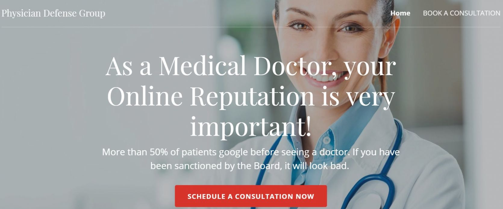 Website Physician Defense Group
