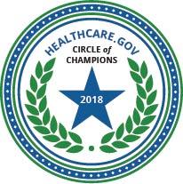 HC.gov Circle of Champions 2018 Badge