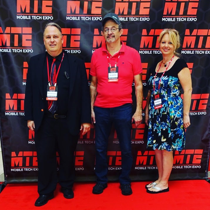 Martin Brossman, Paul Apollonia & Robin Werling at MTE 2018