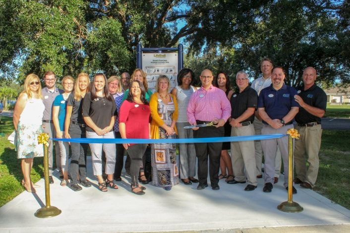 """Gulf Coast Village opens new """"Faith and Fitness Trail"""""""