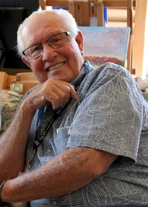 "Levon ""Bud"" Bardsley, Salus Hospice Veteran Volunteer"