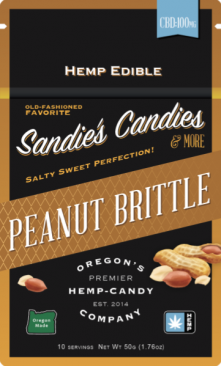 Peanut Brittle Package