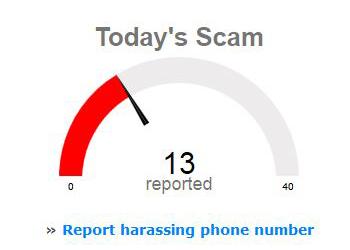 Real time scam gauge