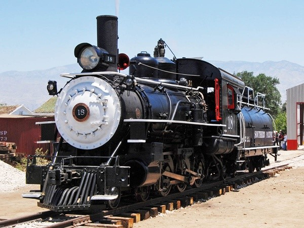Famous Southern Pacific No. 18