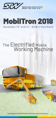 Mobiltron 2018 - Electrification of Mobile Machines
