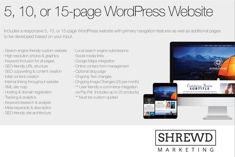 Shrewd WordPress Website Solutions