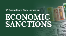 New York Economic Sanctions Forum
