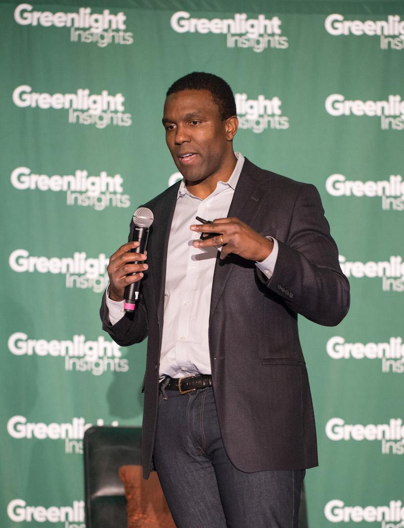 Greenlight Insights CEO Clifton Dawson Speaking at XRSWeek 2018