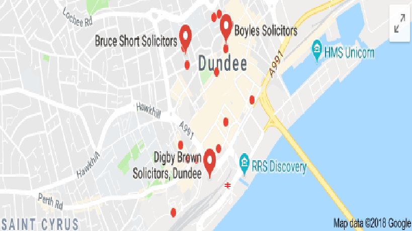 SEO for Solicitors in  Dundee