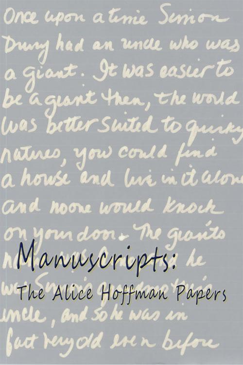 Banner of Hoffman's Manuscript