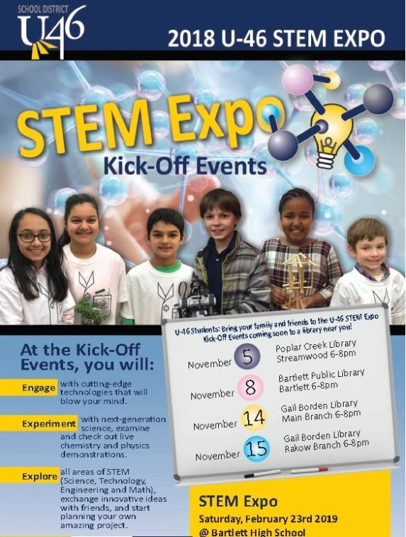 STEM Expo Kick-Off Events 2018