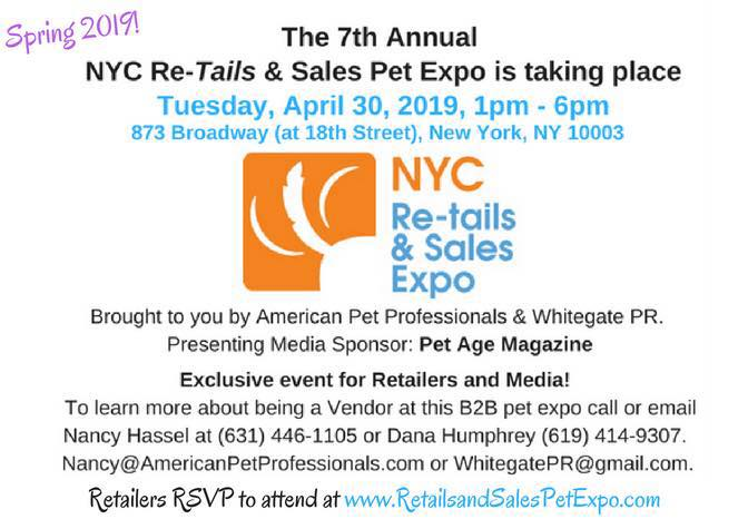 NYC Re-Tails and Sales Pet Expo April 30, 2019