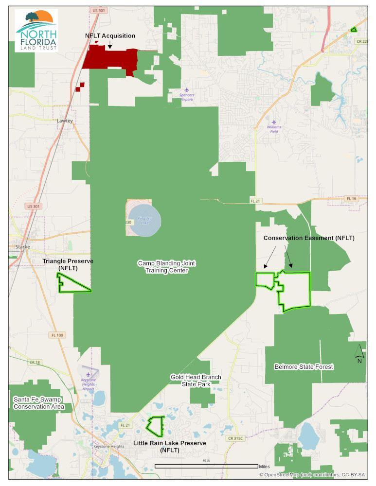 North Florida Land Trust Property