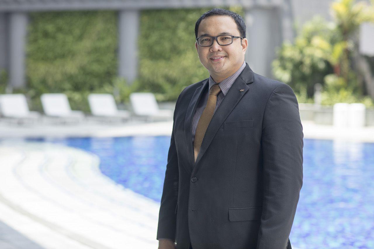 Rennan Reyes is Citadines Manila's Residence Manager