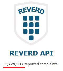 Growing number of reported complaints