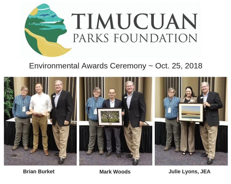 Timucuan Parks Foundation Award Recipients