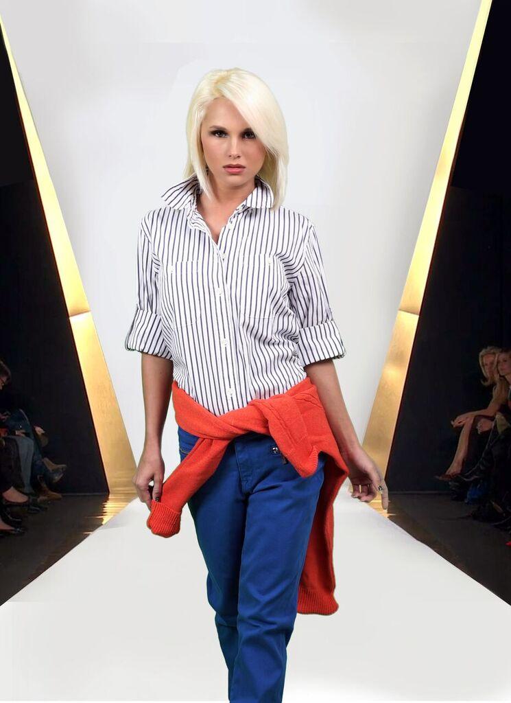 Fa'Shae Sweater Hits New York Runway