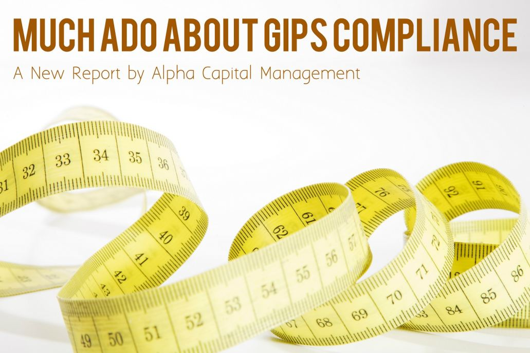 Alpha Capital Management Report on GIPS for OCIOs