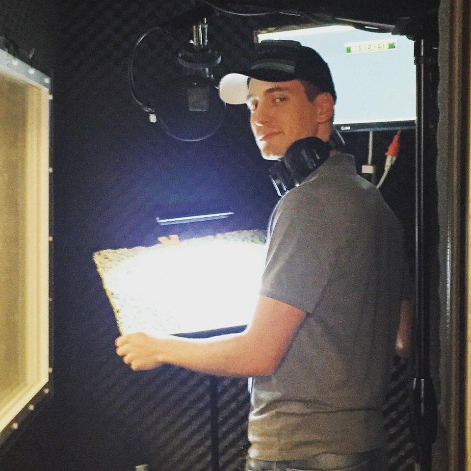 Nicolas Jung - in the studio