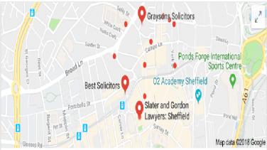 SOLICITORS Sheffield Seo Digital Maketing