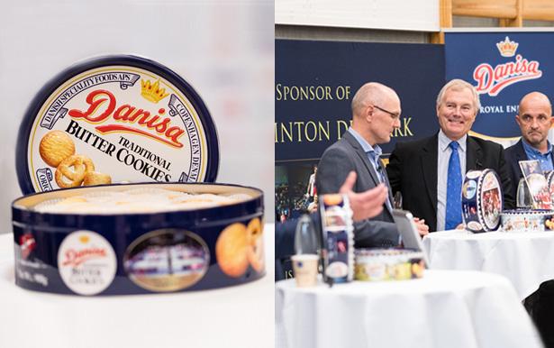 Danisa Butter Cookies Sponsored Denmark Badminton Open