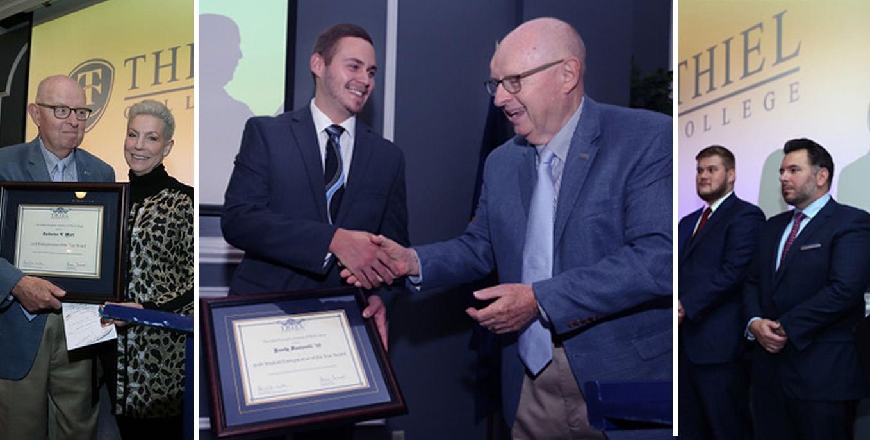 Thiel College's Haller Enterprises Institute 2018 Honorees