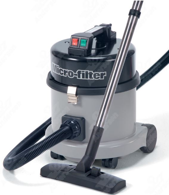 Numatic produce a range of vacuum cleaners suitable for cleanrooms