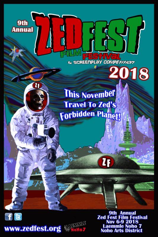 Zed Fest Film Festival 2018 Event Poster