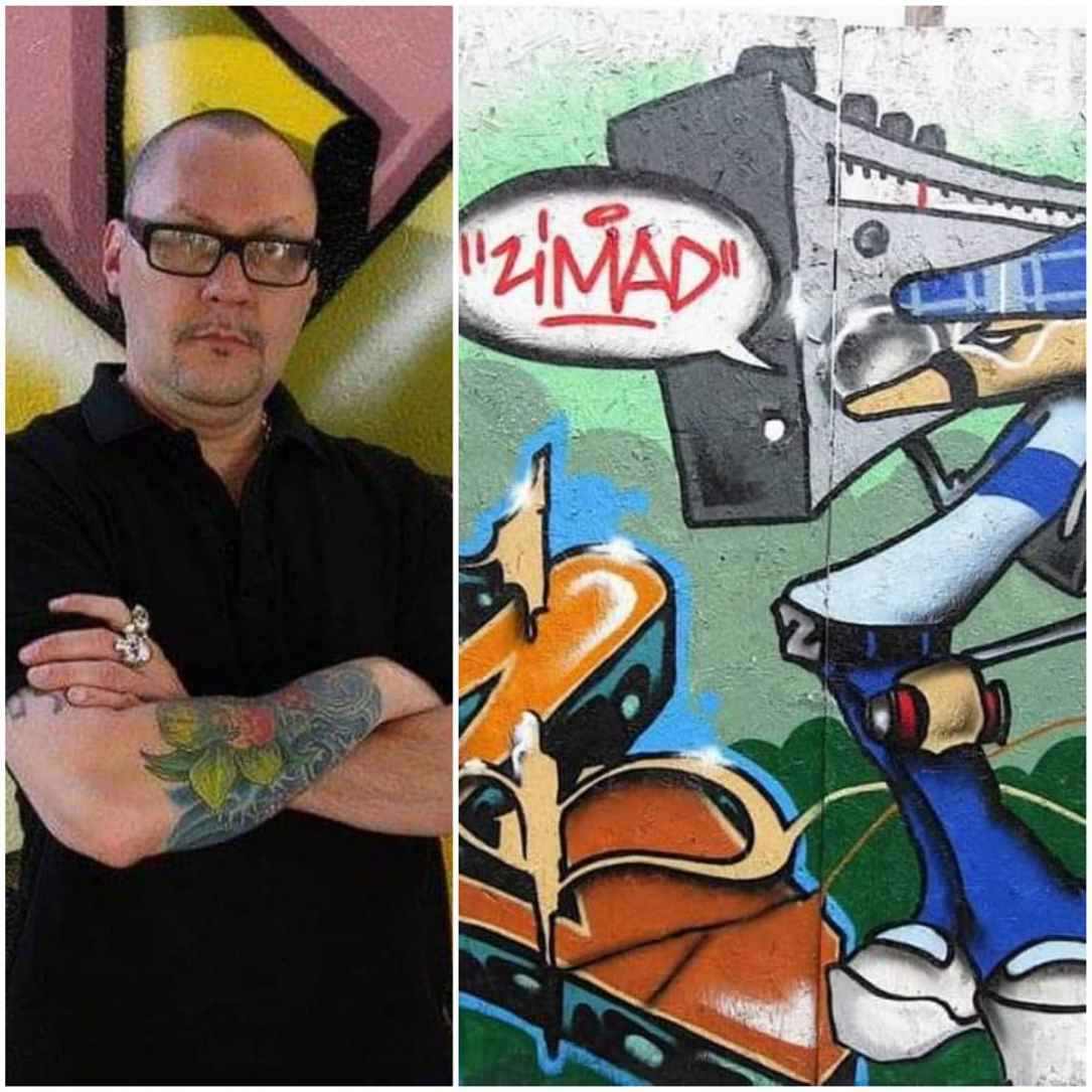 Zimad - International Graffiti Artist