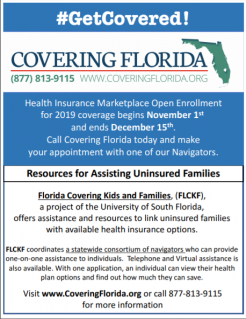 Health Insurance Florida >> Covering Florida Health Insurance Marketplace Open