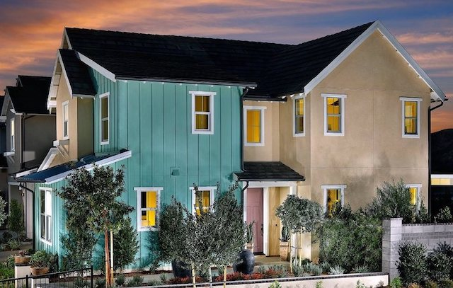 New homes in Rancho Mission Viejo situated near the new Esencia K-8 School