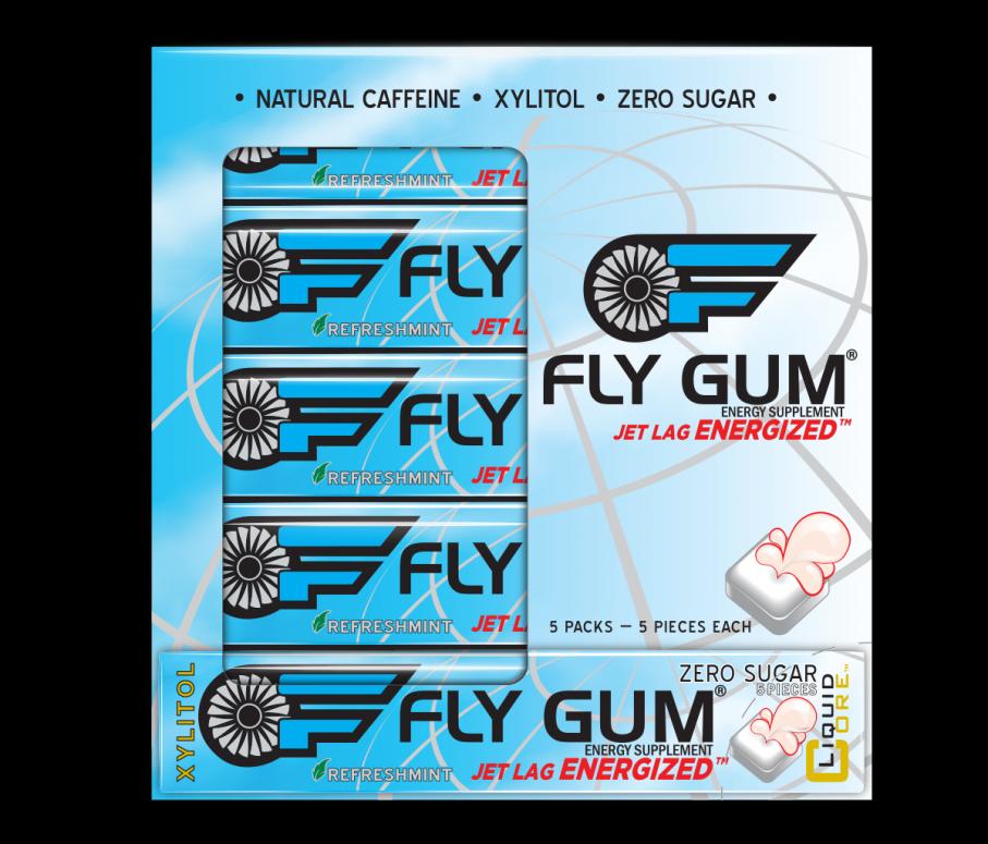 FLY GUM 5-sleeve Package