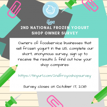 National Froyo Shop Owner Survey