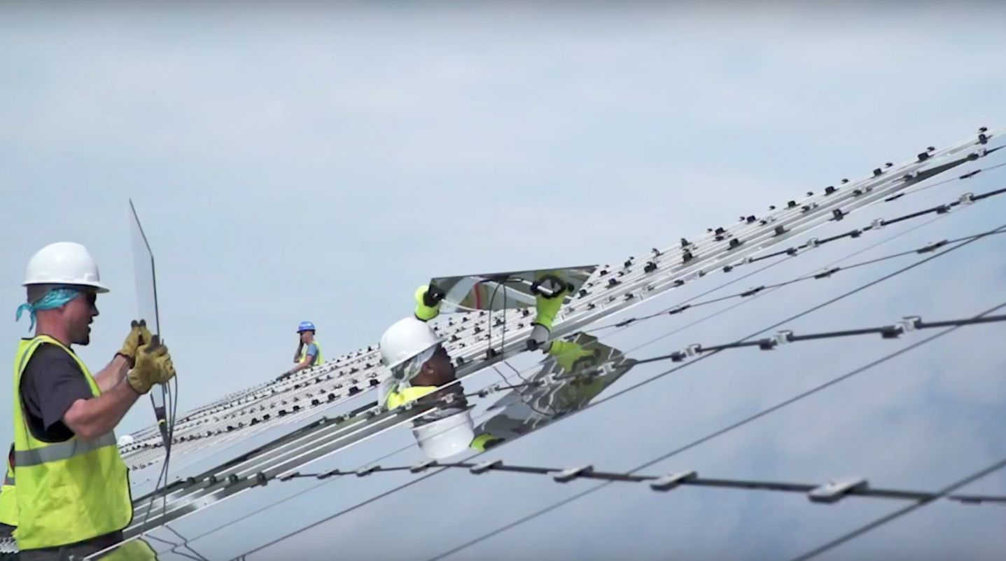Conti Solar Provided EPC Services for the Cuyahoga Landfill Solar Project