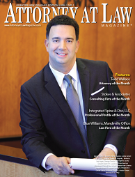 Todd Wallace, Attorney of the Month, Attorney at Law Magazine