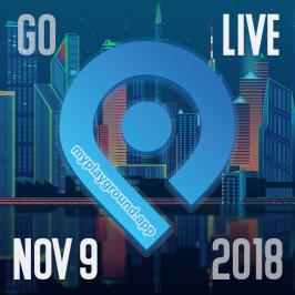Go LIVE locally Nov 9th using myplayground.app
