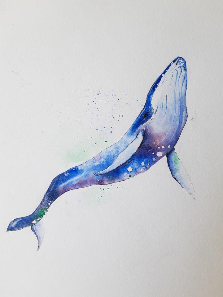 """Baleine céleste"" - Joanie Labonté"