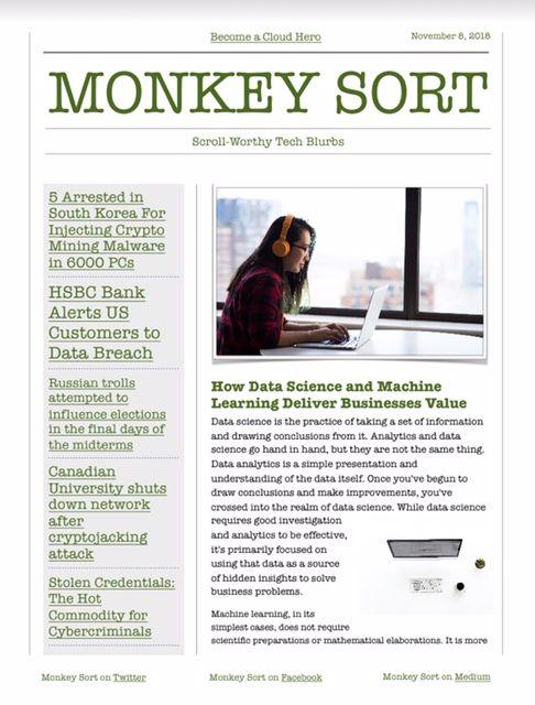 Monkey Sort Cover