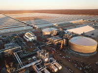 KSP is one of a few of large scale CSP projects world-wide with thermal storage.