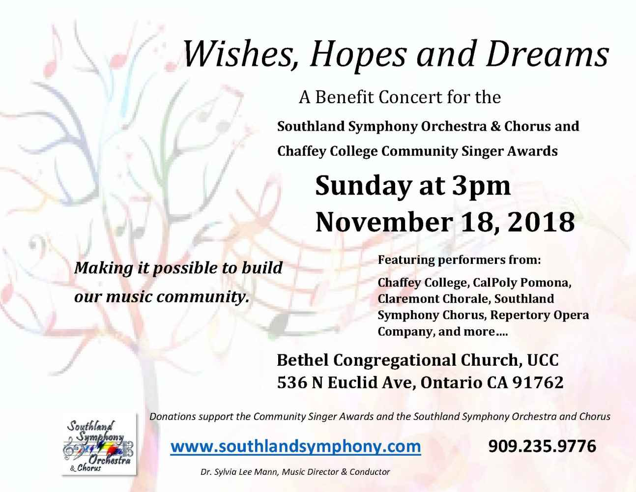 Wishes Hopes and Dreams Flyer 6 david revslm