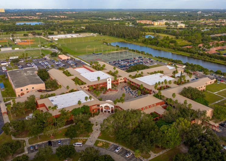 Target Roofing completes reroofing project at Estero High School