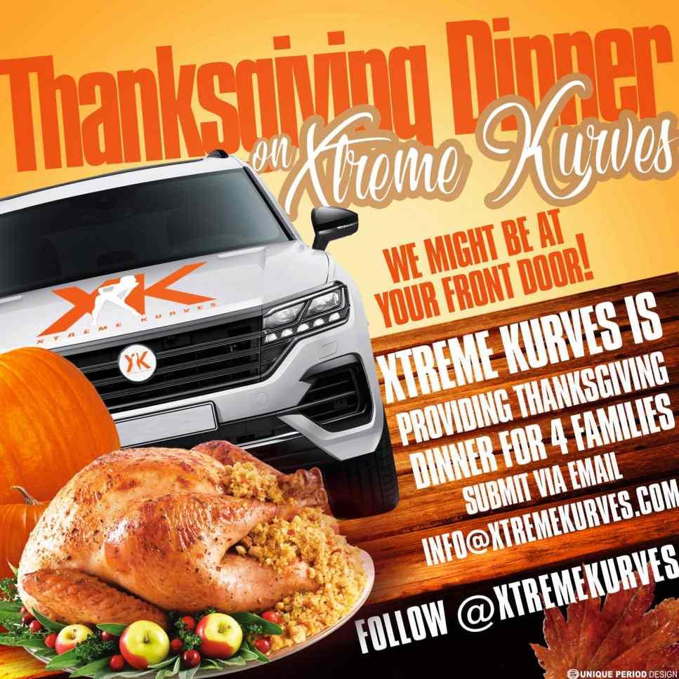 Xtreme Kurves Thanksgiving Dinner Shopping Spree
